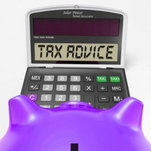 When a failure to give tax advice will not be negligent